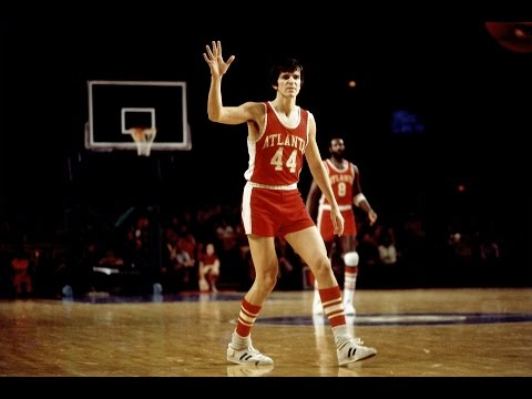 Pete Maravich Rare Footage With Hawks !