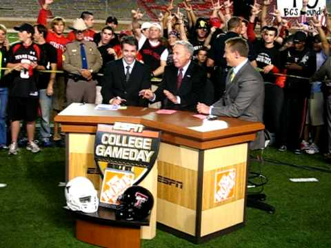 """ESPN """"College GameDay Live"""" Post-Game from Texas Tech ..."""