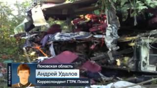 Виновником ДТП под Псковом мог стать уснувший водитель