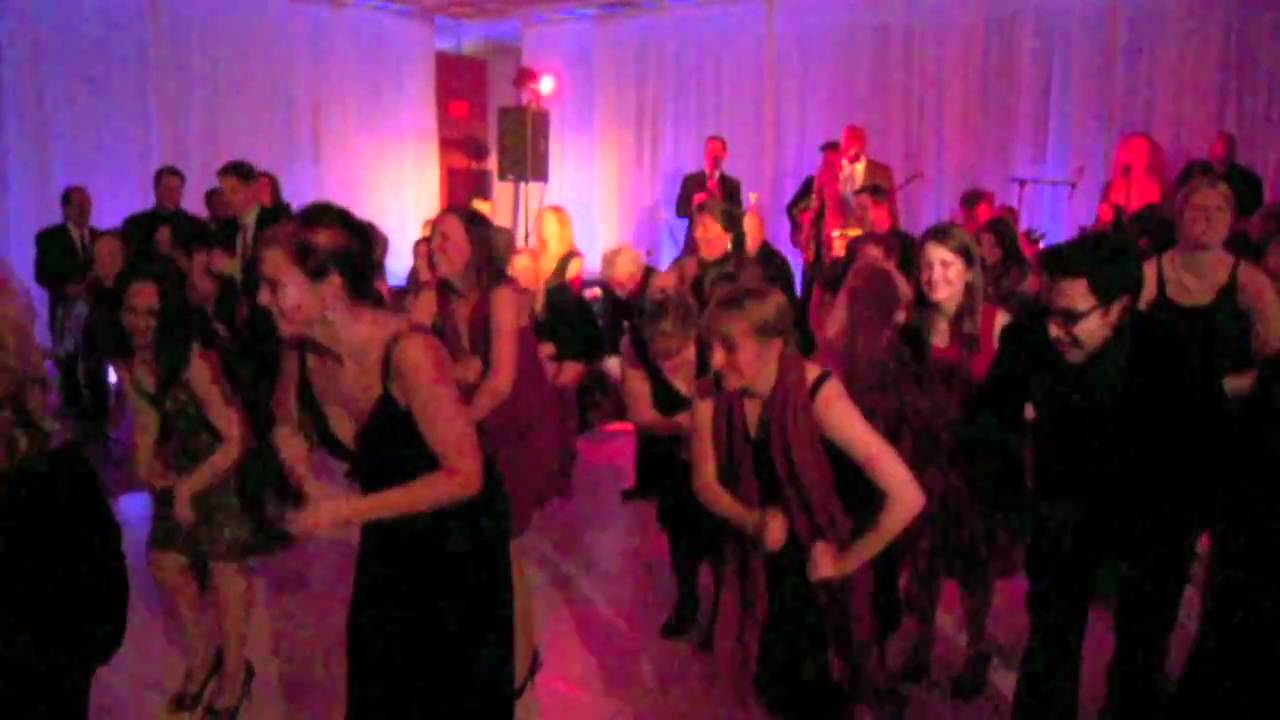 flash mob dance at company party