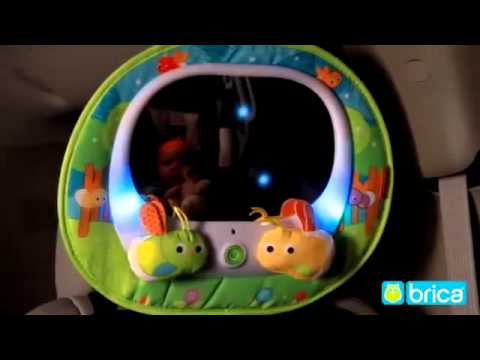 Spiegel Auto Baby : Brica baby in sight magical firefly auto mirror youtube