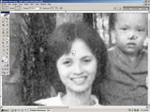 Lớp phục chế ảnh cũ-Xử lý ảnh hư cũ http://HocPhotoshop.Com