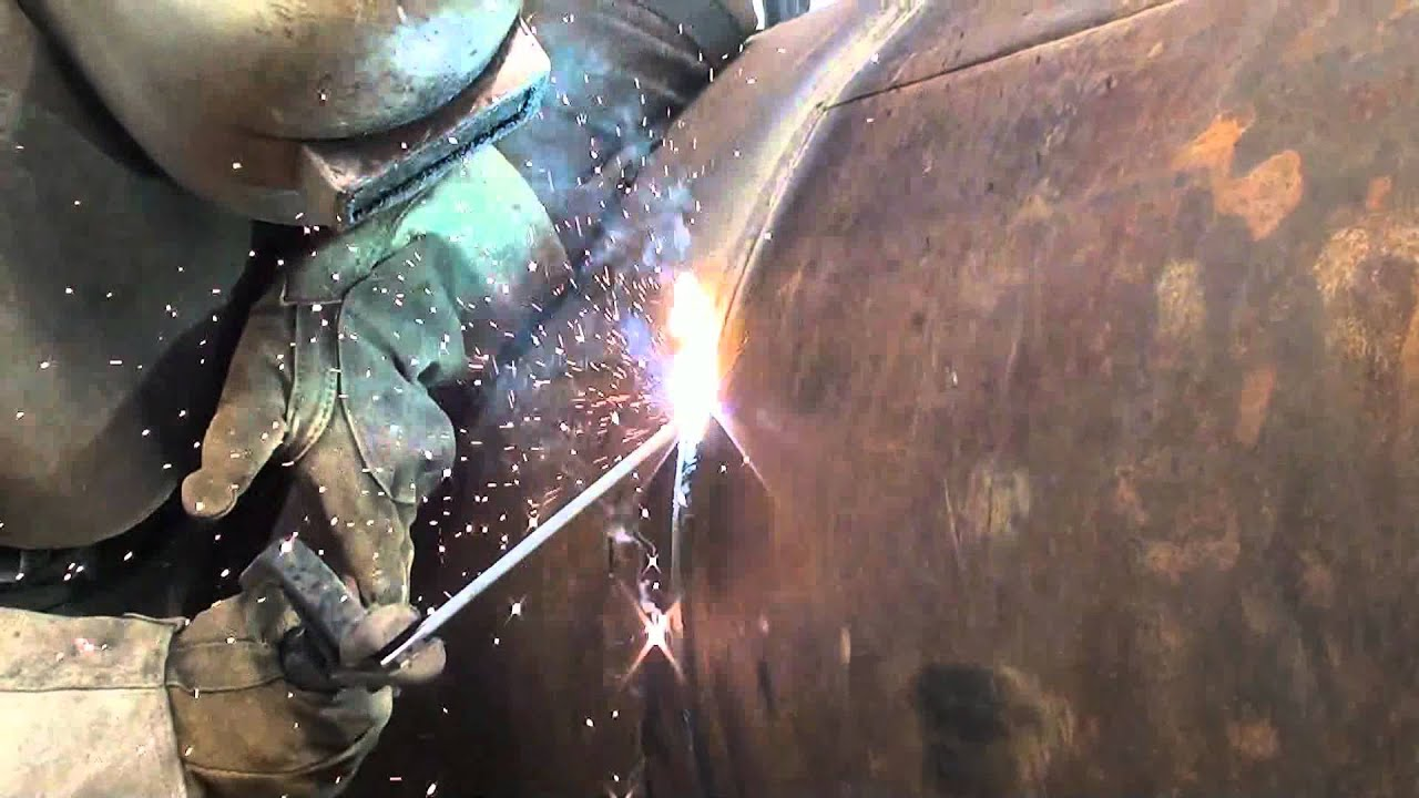 Pipeline Welding Multiple Sections Youtube
