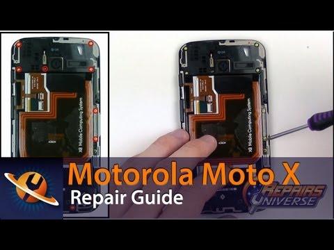 Motorola Moto X Take Apart Repair Guide