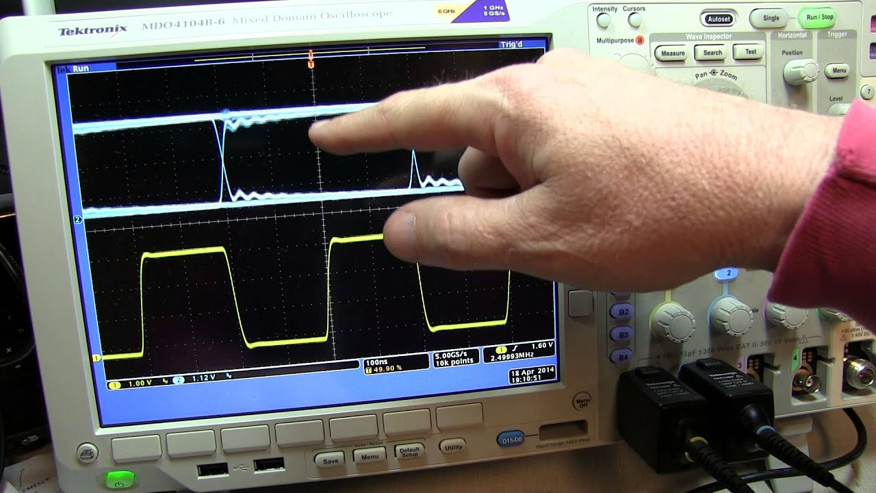 Eye Diagram Measurement Using Oscilloscope Control Wiring Hbl2323 141 What Is An Pattern On A Tutorial Youtube Rh Com