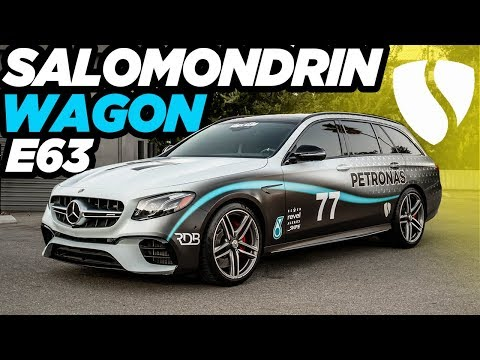 Salomondrin's F1 inspired AMG Wagon, GT53 Mercedes, Burning shoes.