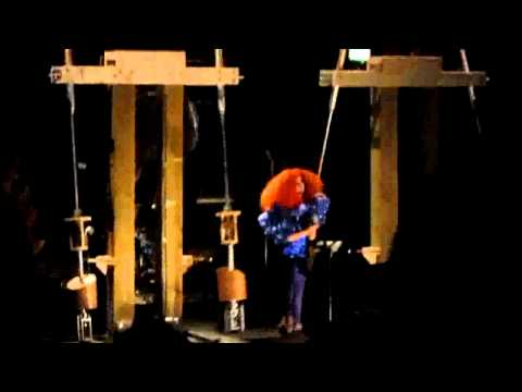 Björk - Solstice - Biophilia project with the pendulum harp (Live at MIF).avi