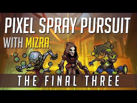 OVERWATCH Pixel Spray Pursuit - Reaper/Zenyatta/Lucio