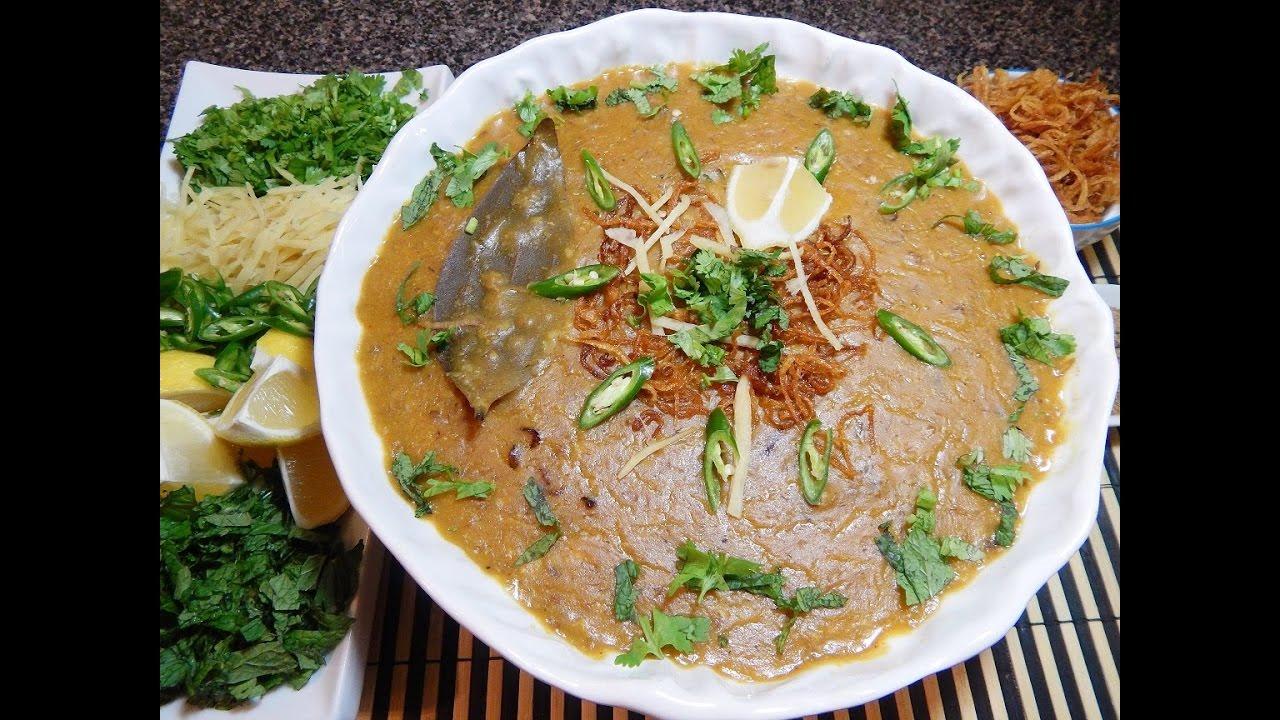 How to Make Haleem (Minced Meat) advise