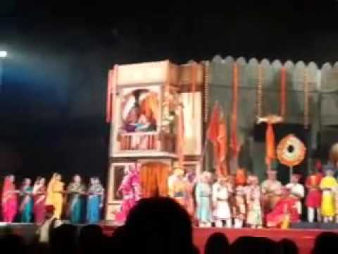Accident during Marathi Play