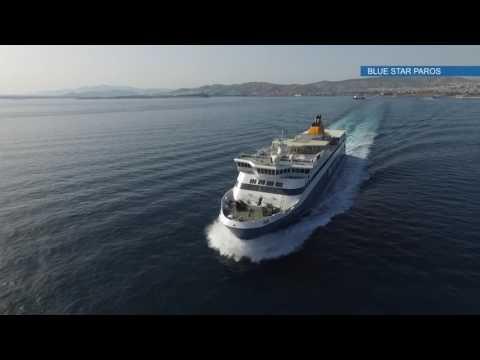 Καλώς ήρθατε στο Blue Star Paros - Welcome on board Blue Star Paros