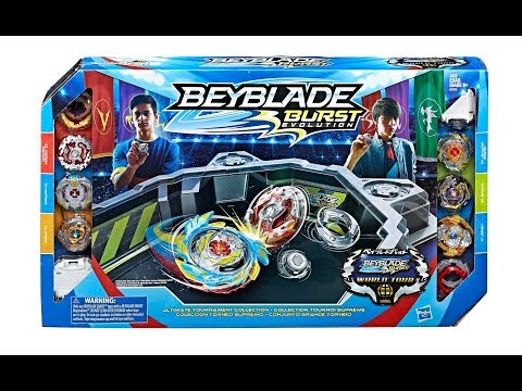 ULTIMATE TOURNAMENT COLLECTION  HASBRO BEYBLADE BURST FULL SST QR CODES BEYBLADE WORLD TOUR 2018
