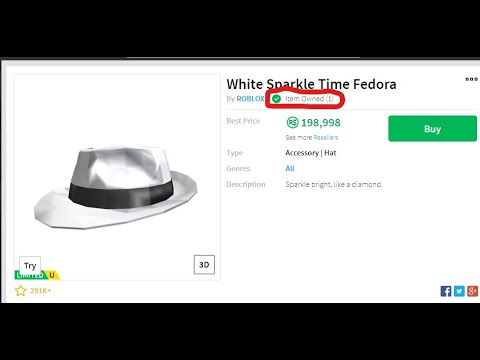 73432580452 ROBLOX TRADING LIVE STREAM+ UPGRADING TO WHITE SPARKLE TIME FEDORA! -  YouTube