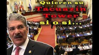 Norman Quijano contra todo seguirá con la idea de construir la Tacuazín Tower