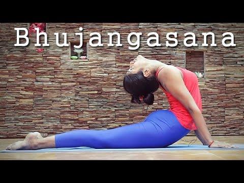 bhujangasana stepstep  preparatory poses for