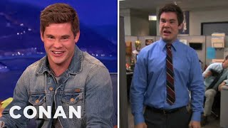 "Adam DeVine: ""Workaholics"" Is Better In German!"