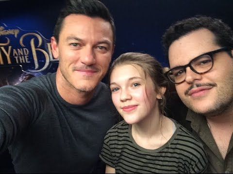 "Thumbnail: Luke Evans & Josh Gad FULL FAN INTERVIEW ""Beauty and the Beast"" EXCLUSIVE"