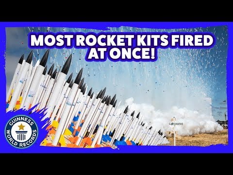 Your Morning Show - World Record for most Model Rockets Launched at once