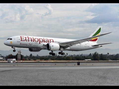 Ethiopian Boeing 787-8 Dreamliner [ET-ASG] at LAX
