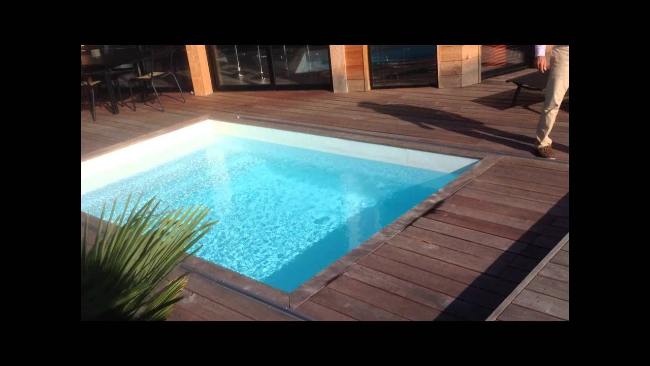 Rolling-Deck® : the sliding wooden deck for all swimming pool | by  Piscinelle