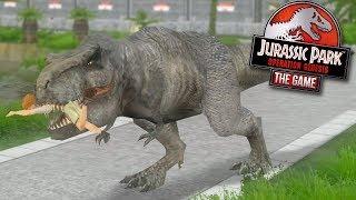 DINOSAUR BREAKOUT! - Jurassic Park Operation Genesis | FINALE thumbnail