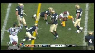 Matt Barkley vs. Notre Dame 2009