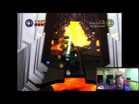 Snoop Dogg rage quits while playing Lego Star Wars The Complete Saga |
