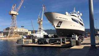 How to launch a Superyacht in under 2 minutes