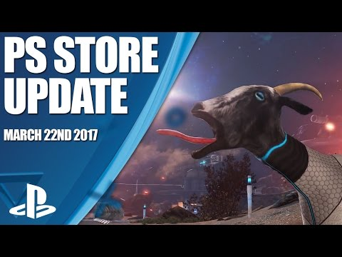 PlayStation Store Highlights - 22nd March 2017