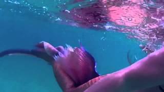 Русалка в море(, 2015-07-10T14:51:02.000Z)