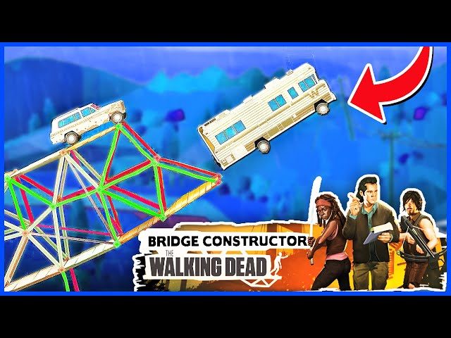Exploding Everything to Survive the Zombie Apocalypse - Bridge Constructor: The Walking Dead
