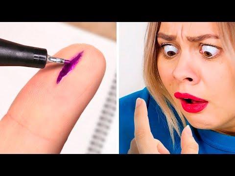 7 KOMİK KY OKUL ŞAKASI || Okulda Yapabileceğiniz Kolay Şakalar