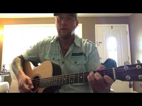 Here Tonight-Brett Young (guitar Lesson) (guitar Cover)