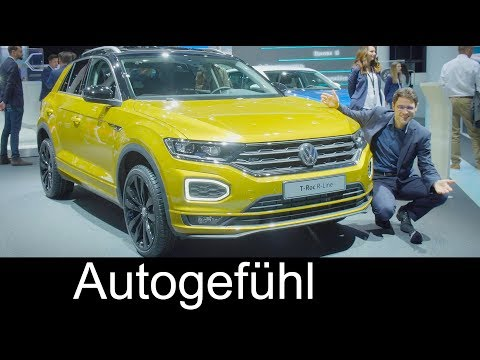 VW T-Roc colours & trims R-Line Style Exterior/Interior Feature Volkswagen IAA 2017 - Autogefühl