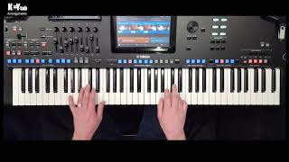 Fields Of Gold - Key-Tab Arrangement (for Yamaha Genos, Tyros 5, PSR-S Series)