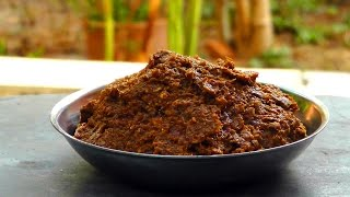 Thai Massaman Curry Paste - Vegan Vegetarian Recipe