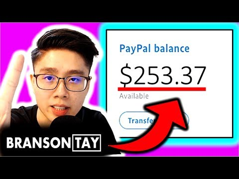 Earn $253.00+ in JUST MINS with NEW Internet TRICK?!! (Stupidly SIMPLE Way to Make Money Online!)