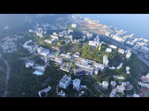 Flying over CUHK