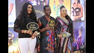 Afeez Owo Storms In With Other Yoruba Actress As They Greet Mercy Aigbe Ayo Adesanya  ampOthers