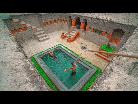 how-to-build-the-most-beautiful-underground-swimming-pools-&-secret-underground-house