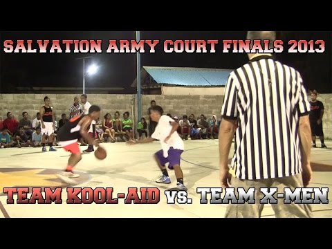 Salvation Army Court Finals 2013: Team Kool-Aid Vs. Team X-Men