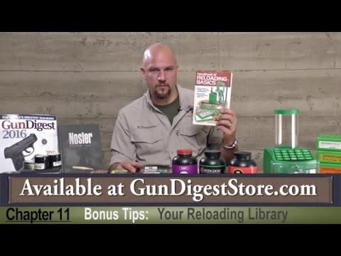 Gun Digest Reloading Series Episode 11: Bonus Tips - YouTube