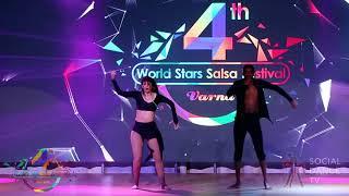 Tamba & Emanuela – Salsa Show | 4th World Stars Salsa Festival