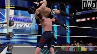 DJAK47 Tha Hustler vs. Finn Balor | WWE SmackDown Live: WWE 2K17 Throwback Match