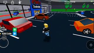 I played the Roblox car game