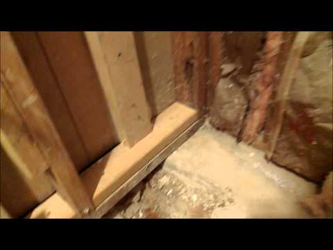 HOW TO CHANGE BATHROOM TUB TO WALK IN SHOWER. SHOWER PAN PREP PART 1 OF