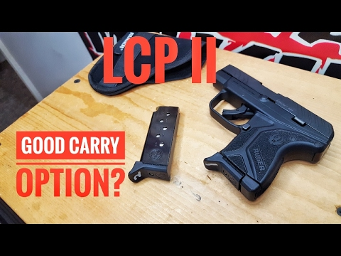 RUGER LCP II GOOD FOR CARRY?
