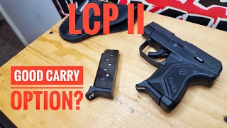 Ruger LCP II, Good for carry or not?
