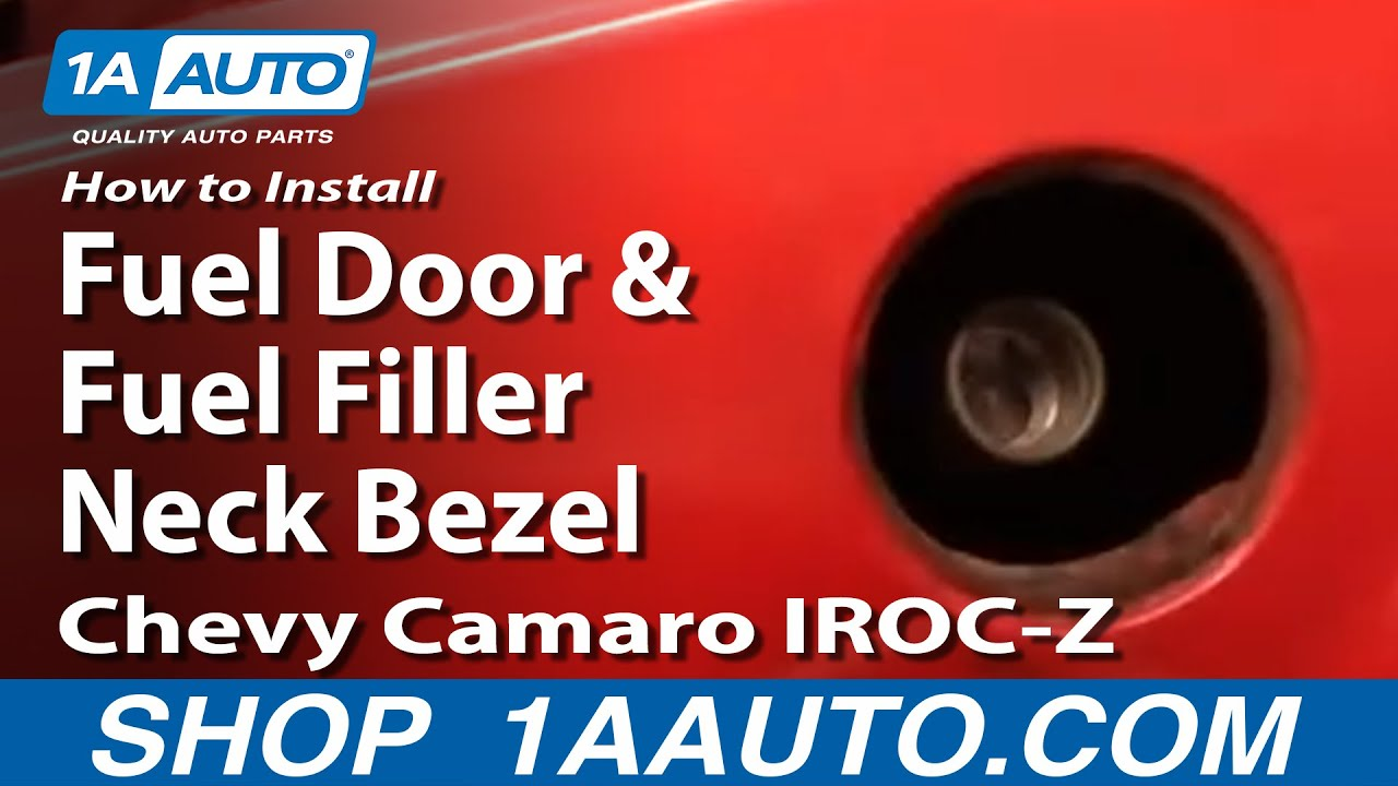 How to Install Replace Fuel Door and Fuel Filler neck