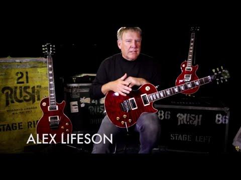 Gibson Custom Alex Lifeson 40th Anniversary R40 Les Paul Axcess